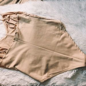 Forever 21 Tops - Nude forever 21 lace bodysuit-SOLD